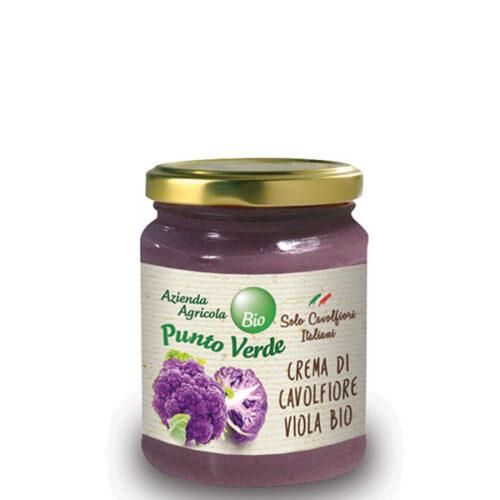 crema di cavolfiore viola bio