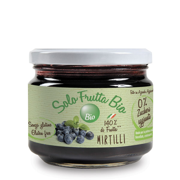 Solo Frutta Bio Mirtilli